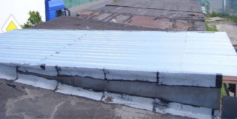 Как сделать бетон для крыши гаража