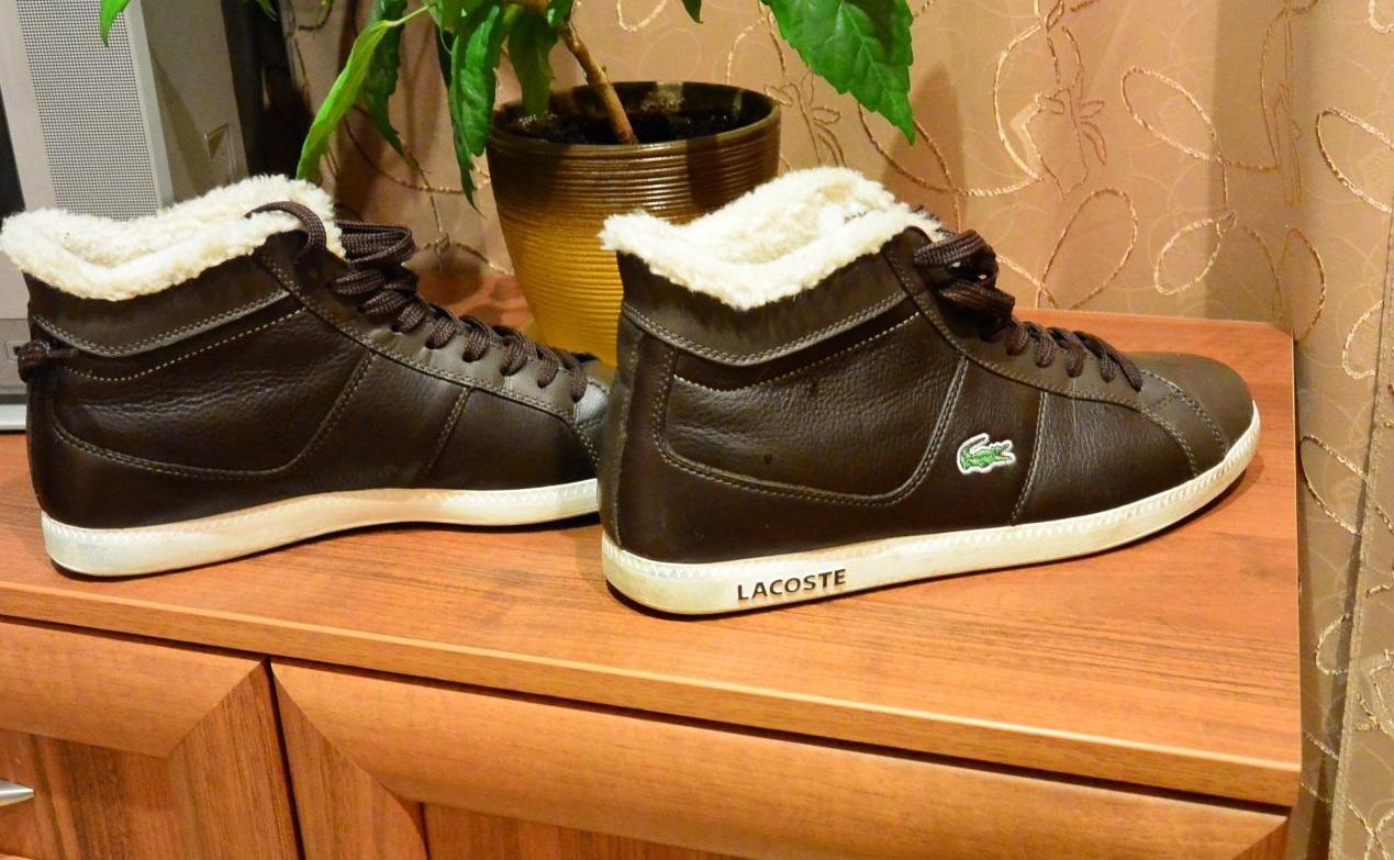 Зимние ботинки Lacoste c249891ead0